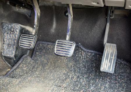 Control pedel brake clutch and accelerator