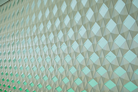Abstract modern design of geometric seamless wall background