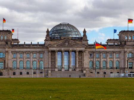 Reichstag building, seat of the German Parliament (Deutscher Bundestag) in Berlin, Germany Redakční