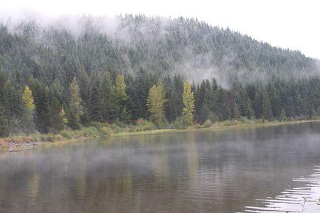 trillium lake: Trillium Lake Reflection