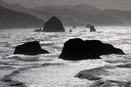Ocean Silhouette photo