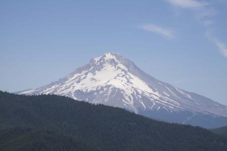mount hood: Mount Hood - Photo taken onForest Service road 58 to High Rock, Mount Hood National Forest, Oregon.