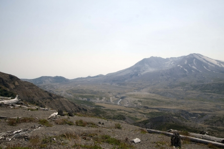 Photo taken at Cold Water Lake Viewpoint in the Mount Saint Helens National Volcanic Monument, Washington  photo