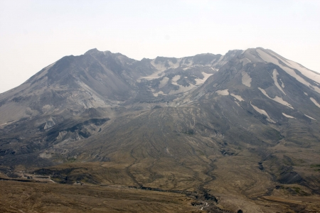 Mount Saint Helens Lavadome - Photo taken at Johnson Ridge Observatory in Mount Saint Helens National Volcanic Monument, Washington  photo