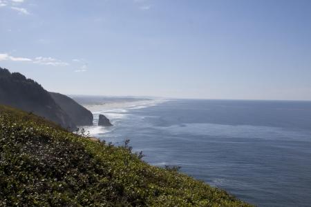 Oregon Coast Along Highway 101 Stock Photo