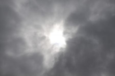 雲の形成。 高速道路 101 に沿ってオレゴン州の海岸で撮影した写真。