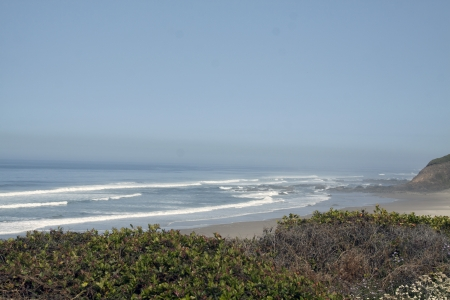 Beach at Washburne State Park on Highway 101, Oregon. Stock Photo