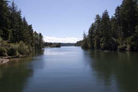 East woahink Lake.
