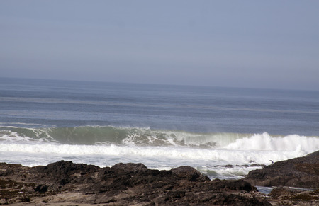 Oregon Surf.  Photo taken along Highway 101 on the Oregon coast.