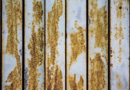 rusty: Rusty Fence Stock Photo