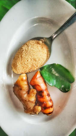 Do not underestimate Ginger, turmeric and lime leaves are one of the many ingredients that are widely used for herbal medicine.