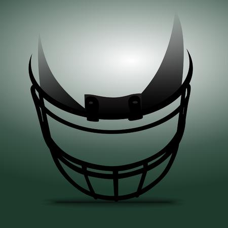 uniforme de futbol: Casco de f�tbol americano