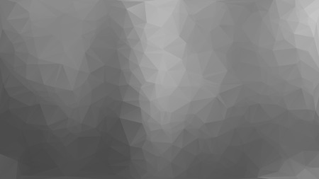 Gray abstract polygon triangle background Vector