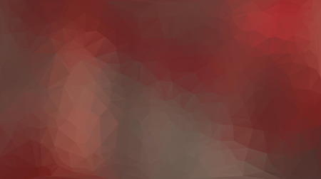 Red abstract polygon triangle background Vector