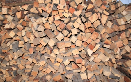 Chopped wood Stock Photo - 14028802