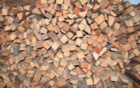 Chopped wood Stock Photo - 14028802