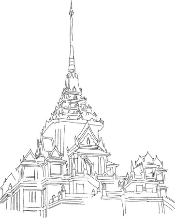 Temple Vector