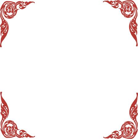 Thai pattern Illustration