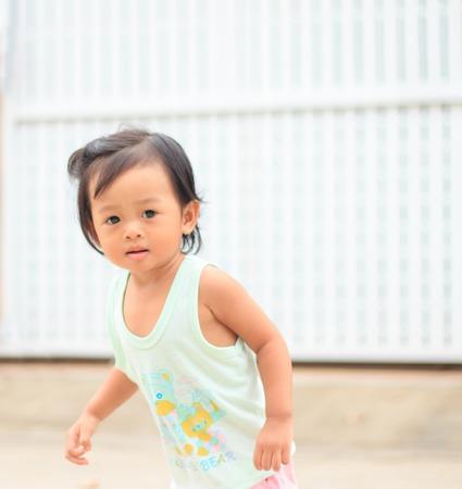 Little Asian girl photo