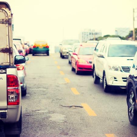 slow lane: Traffic