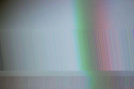 Glitch style, Abstract LED screen glitch pattern background.