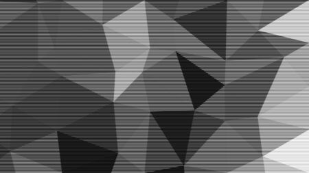 Abstract halftone polygon photocopy texture background