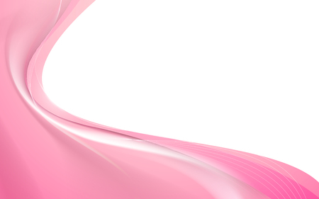 Abstract pink wavy smooth background Illustration