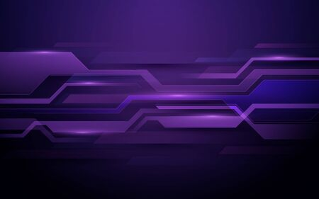 Abstract technology digital hi tech concept and Futuristic design background