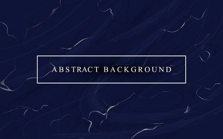 Abstract luxury background with dark blue marble texture Stock Vector - 127168598