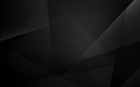 Fondo de presentación dinámica geométrica negra abstracta Ilustración de vector