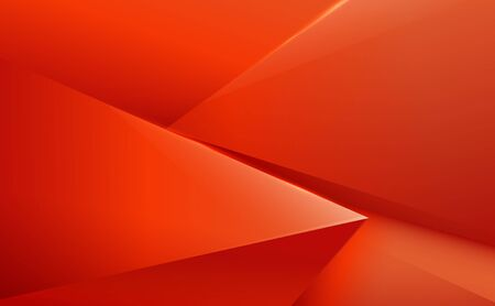 Abstract red and orange polygonal pattern luxury background
