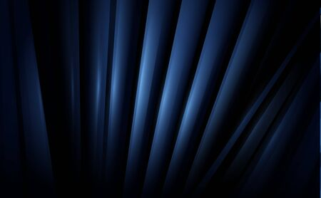 Abstract dark blue minimal lines repeating background Ilustrace