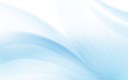 Abstract blue wavy with blurred light curved lines background