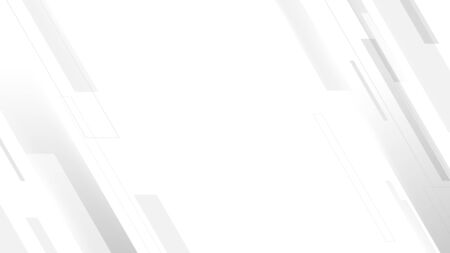 Abstract geometric white and gray color background. Technology Digital Hi Tech Иллюстрация