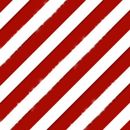 Red stripes on white diagonal pattern background. Vector illustration