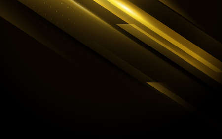 Gold abstract minimal geometric background. Abstract technology Hi-tech futuristic digital. Vector illustration 向量圖像