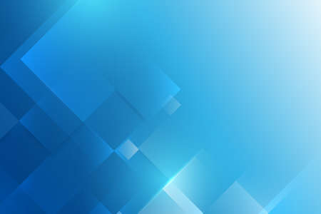 Abstract blue geometric shape technology digital hi tech concept background. Space for your text