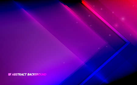 Abstract colorful geometric triangle background. Futuristic technology digital hi-tech concept. Vector illustration