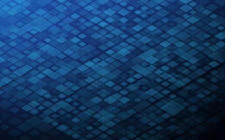 Technology digital abstract background. Grid core. Big data digital. Futuristic information technology concept. Blue Digital cyberspace. Vector illustration Ilustração