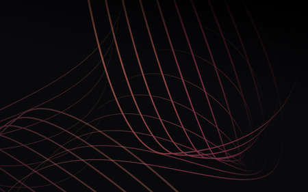 Abstract flowing line waves. Luxury background. Vector illustration