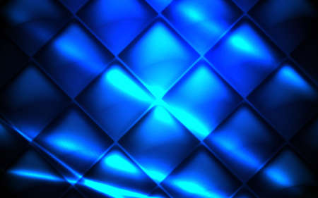 Abstract glowing light dynamic with geometric square grid blue pattern background. Futuristic technology digital hi-tech concept. Vector illustration 일러스트