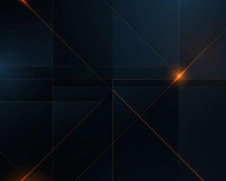Abstract blue geometric shape overlap layer background. Luxury background. Vector illustration