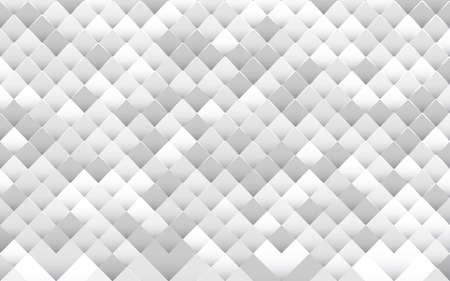 White abstract geometric mosaic pattern background. Vector illustration 일러스트