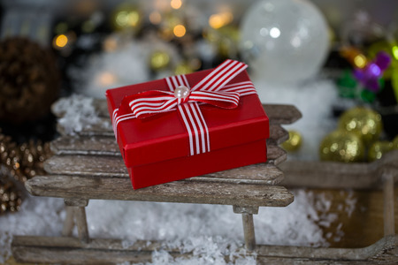 poison on christmas sleigh