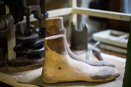 Moldings, wooden shoe lasts, handmade, shoemaker