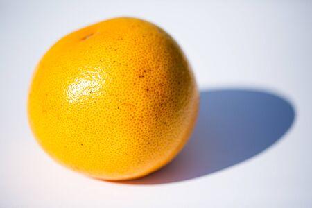 Grapefruit red, white background 版權商用圖片 - 131099867
