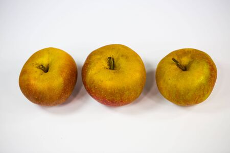 boskop apples on white background