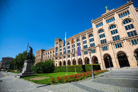 government of Upper Bavaria, historic building in Munich 版權商用圖片
