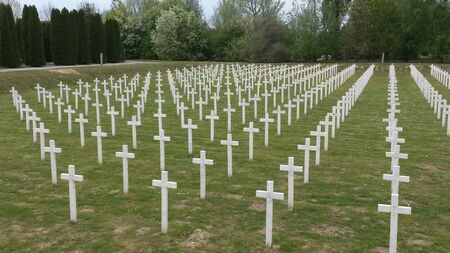 Memorial cemetery of victims from the Homeland War in Vukovar