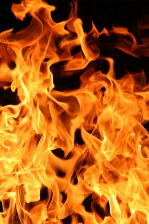 Flames for background use Stock Photo